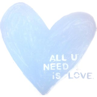 'Love Is All You Need' Original Painting by Linnea Heide For Sale