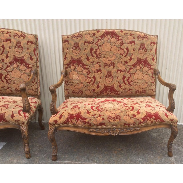 1980s Tuscan Style Settees - a Pair For Sale - Image 5 of 13
