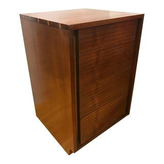 Midcentury Heritage Henredon Small Four-Drawer Chest For Sale