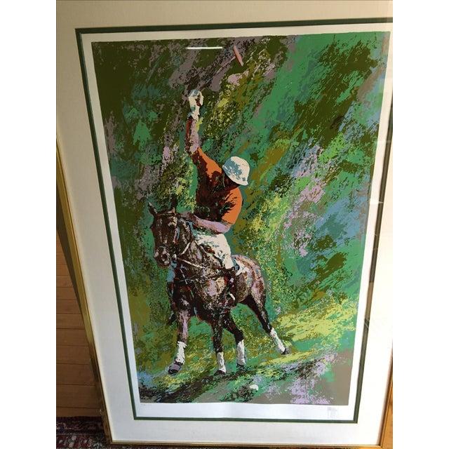 2000 - 2009 Mark King Polo Silkscreen Print For Sale - Image 5 of 6