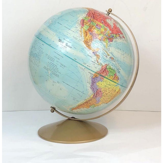 Late 20th Century Vintage Replogle World Nations Series Globe For Sale - Image 5 of 11