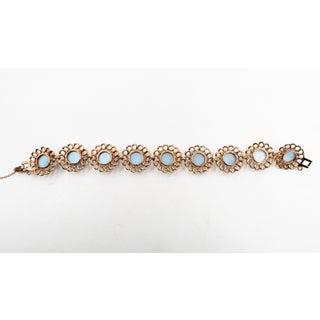 1950s Reja Faux-Blue Moonstone Bracelet Preview