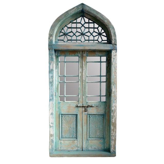 Jodhpur Church Door With Mirror For Sale - Image 4 of 4