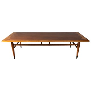 Cedar, Oak, and Walnut Dovetail Coffee Table by Lane For Sale