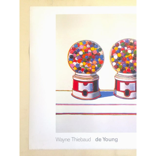 "This Wayne Thiebaud offset lithograph print Pop Art museum poster "" Three Machines "" 1963, is a very special and unique..."