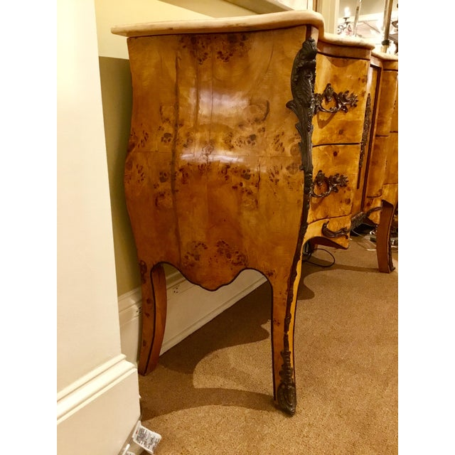 Antique Italian Serpentine Chest For Sale - Image 9 of 11