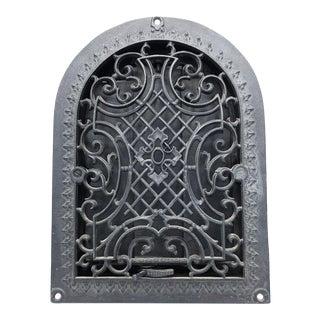 Antique Cast Iron Domed Top Heat Grate Vent Register For Sale