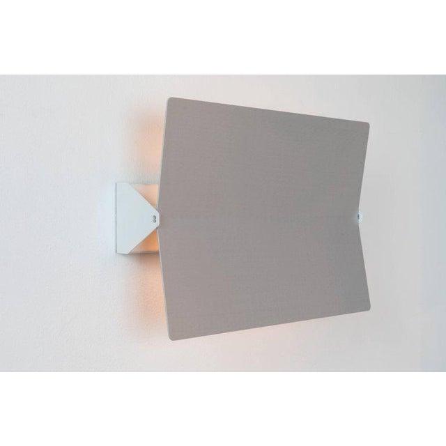 Cassina Large Charlotte Perriand 'Applique à Volet Pivotant Plié' Wall Light in Aluminum For Sale - Image 4 of 8