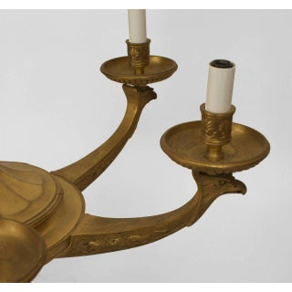 19th Century French Empire Bronze Dore Chandelier Preview