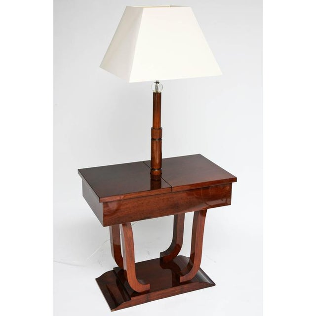Exceptional art deco biedermeier inspired work table lamp in this beautiful art deco work table lamp was created in france in the 1930s aloadofball Images