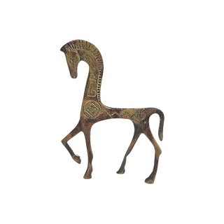 Mid Mod Etruscan Horse For Sale