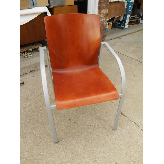 Harter Kion Midcentury Danish Molded Plywood Chair - Image 2 of 6