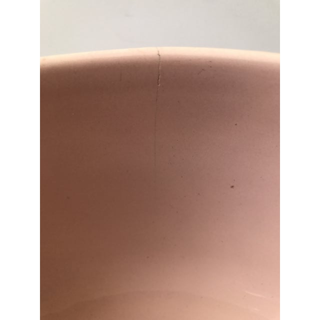 Ceramic Haeger Pink Pottery Bowl For Sale - Image 7 of 9
