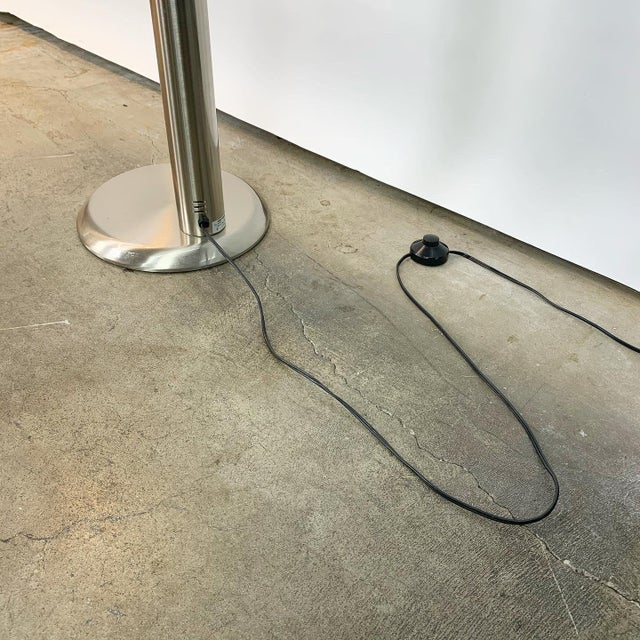 Black Italian Modern Adjustable Floor Lamp For Sale - Image 8 of 13