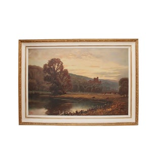 Early 20th Century Signed Alexander Nelke Painting For Sale