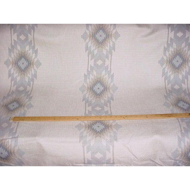 Folk Art Southwestern Andrew Martin Cruz Desert Southwest Printed Ikat Upholstery Fabric - 4-7/8y For Sale - Image 3 of 5