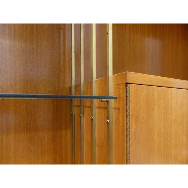 Gold Mid-Century Modern Paul McCobb for Calvin Furniture Breakfront For Sale - Image 8 of 13