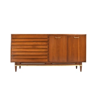 Mid-Century Credenza by Merton Gershun for American of Martinsville For Sale
