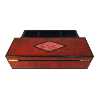 f7d90449b8c9 Ra-Gar Lacquered Art Deco Jewelry/Valet Box For Sale