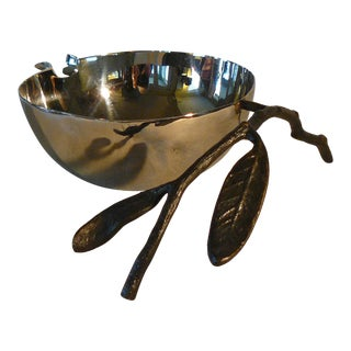 Michael Aram Pomegranate Nut Bowl For Sale
