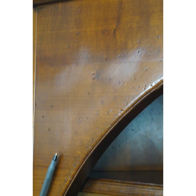 GEKA Grange French Country Cherry Corner Cabinet - Image 7 of 10