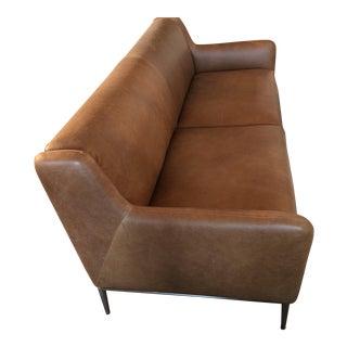 Leather Cb2 Alfred Sofa
