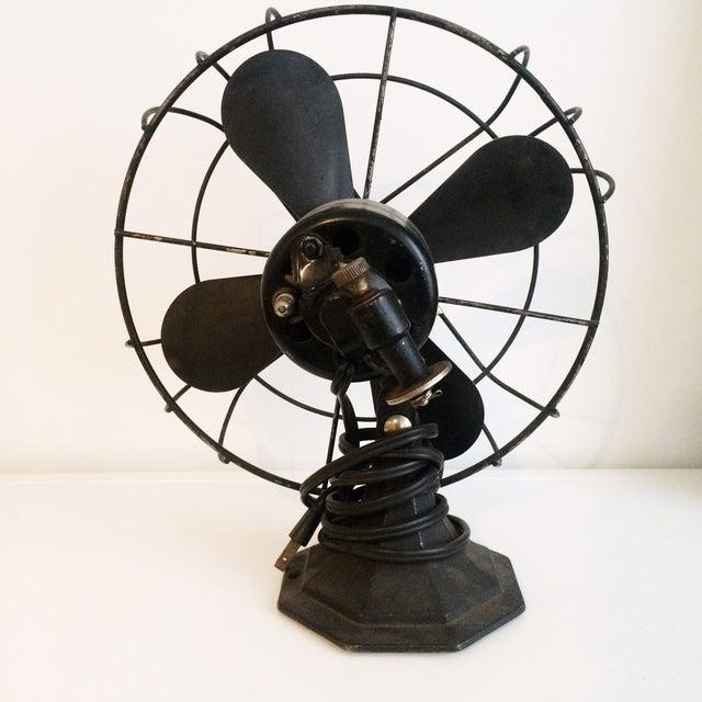 Vintage Industrial Viking Fan - Image 3 of 4