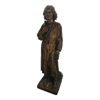 19th Century Life Size French Maquette Sculpture For Sale