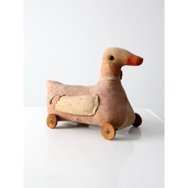 Country Victorian Toy Duck For Sale - Image 3 of 8