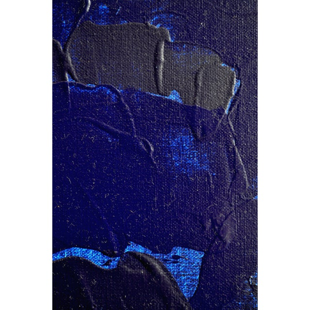 Blue & Green Brushless #18 Painting - Image 3 of 4