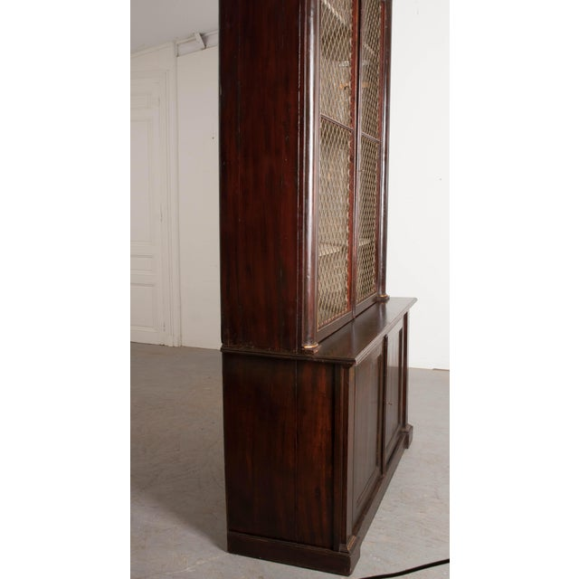 Early 19th Century 19th Century English Regency Library Bookcases - a Pair For Sale - Image 5 of 13