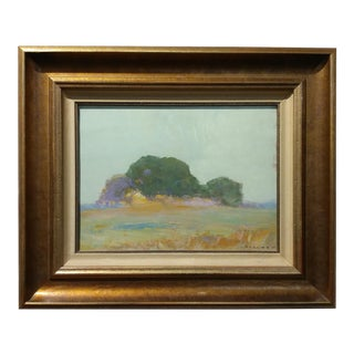 1920s California Landscape Oil Painting For Sale