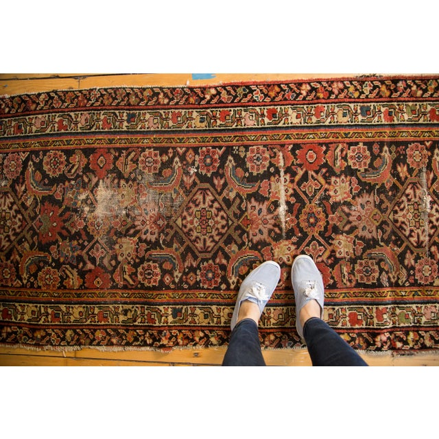 "Antique Distressed Rug Runner - 2'11"" X 12'8"" - Image 2 of 10"