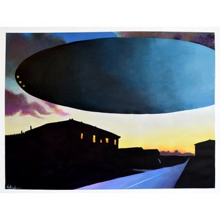 """Saucer Painting #2"" - Geoff Greene Painting For Sale"