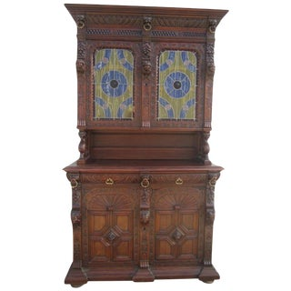 French Antique Cabinet Hutch Buffet Antique Furniture For Sale