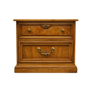 """Thomasville Furniture Serenade Collection 26"""" Nightstand For Sale"""
