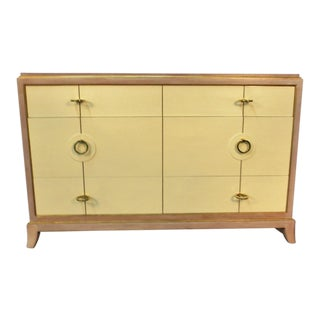 Parzinger Style Chest of Drawers For Sale