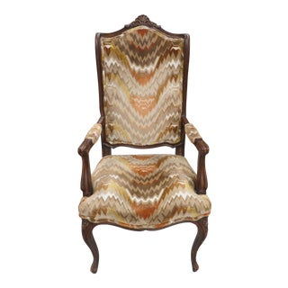 1950s Vintage French Inspired Accent Chair For Sale