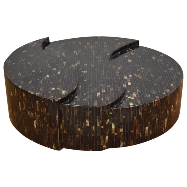 Tessellated Horn Coffee Table - Image 1 of 9