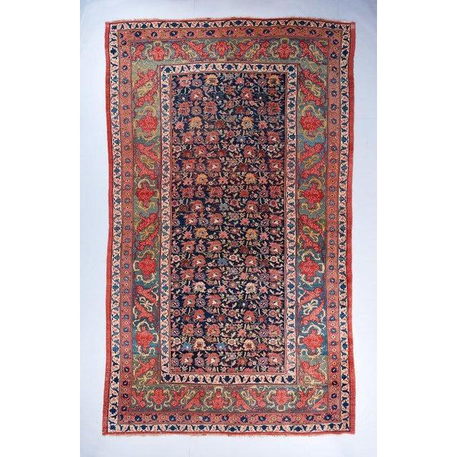 Allover Design Oversized Bijar Carpet For Sale In Los Angeles - Image 6 of 6