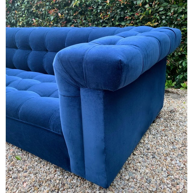 Mid-Century Modern Edward Wormley for Dunbar Party Sofa For Sale - Image 3 of 8