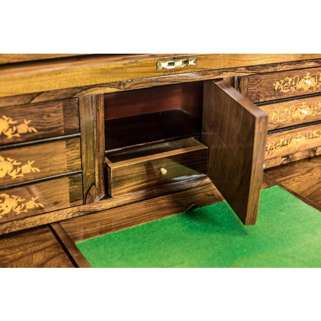 Elm Secretary Desk, circa the 19th Century For Sale - Image 11 of 13
