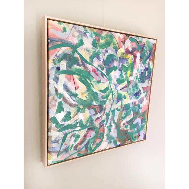 Garden of Weeds Original Painting For Sale - Image 4 of 6