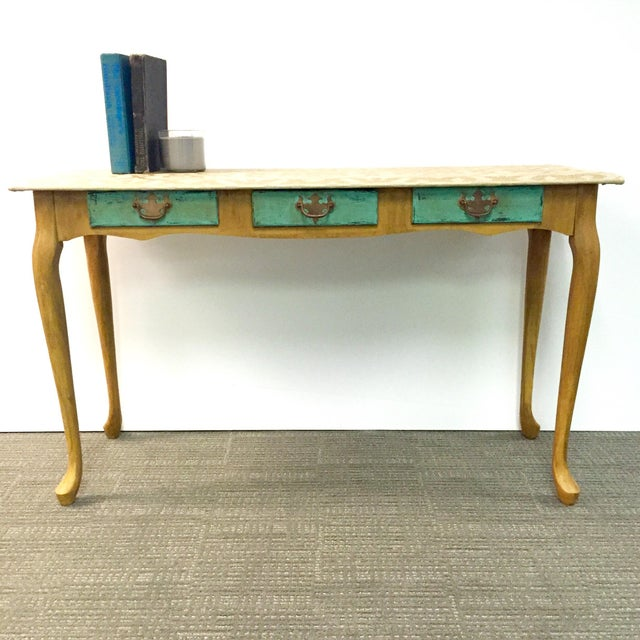 Hand-Painted Sofa Table - Image 7 of 7