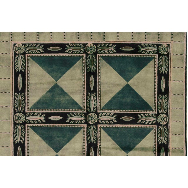 Contemporary Hand Woven Rug - 5'9 x 8' - Image 2 of 3