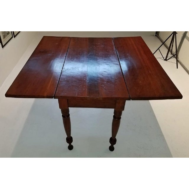 19c Virginia Shaker Drop Leaf Table - With Provenance For Sale - Image 10 of 13