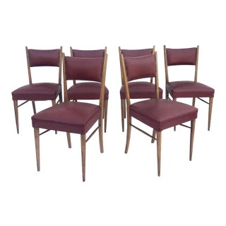 Mid-Century Modern Italian Dining Chairs For Sale