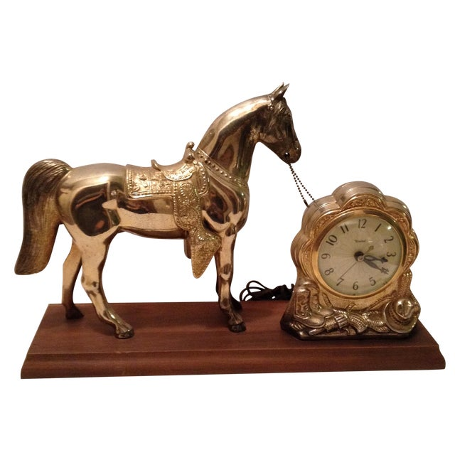 Horse Mantel Clock - Image 1 of 5