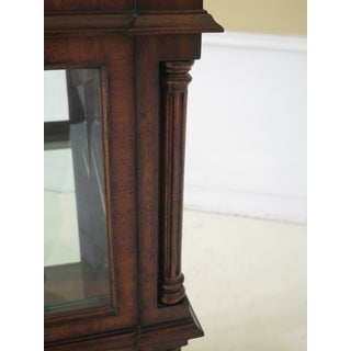Maitland Smith 8 Door Mahogany Beveled Glass Curio Cabinet Preview