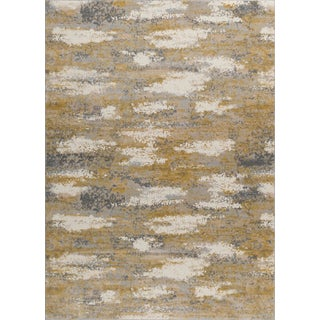 "Ananda - Gilded Area Rug - 2'2"" x 7'8"" For Sale"